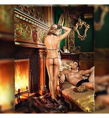 Σετ Δαντελένιο Love Slave...