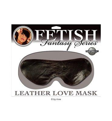 Fetish Fantasy Leather Love Mask