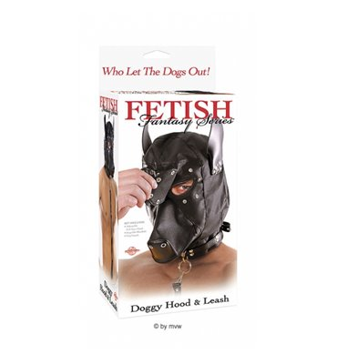 Doggy Hood And Leash