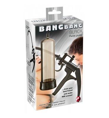 Μεγενθυτής Πέους Bang Bang μαύρο Πιστόλι