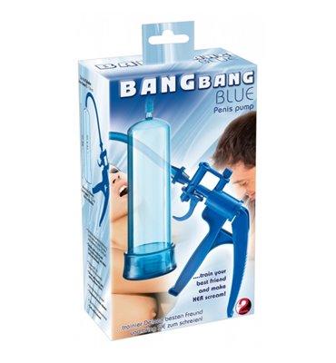 Μεγενθυτής Πέους Bang Bang μπλε Πιστόλι