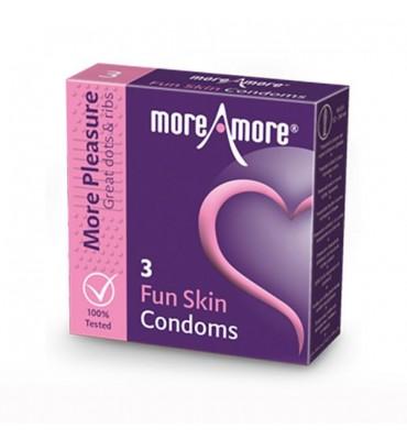 Προφυλακτικά Fun Skin (3...