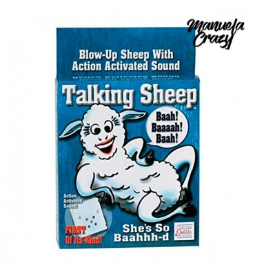 Talking Sheep Manuela Crazy 1981-01-03 Λευκό