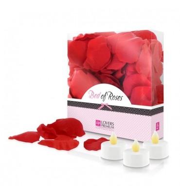 Κρεβάτι με Τριαντάφυλλα...